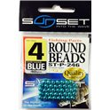 Sunset Round Beads Size 4