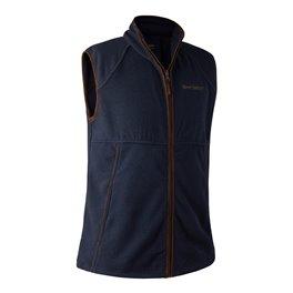 Wing Shooter Fleece Waistcoat Blue