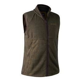 Wing Shooter Fleece Waistcoat Green