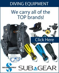 Suba Diving Equipment